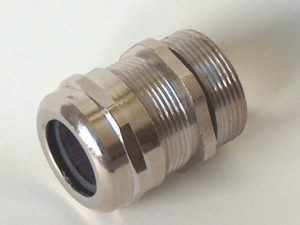 METAL IP68 RATED CABLE GLANDS - Thread M12, Range 3-6mm